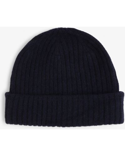 Niebieski czapka baseballowa Finshley & Harding