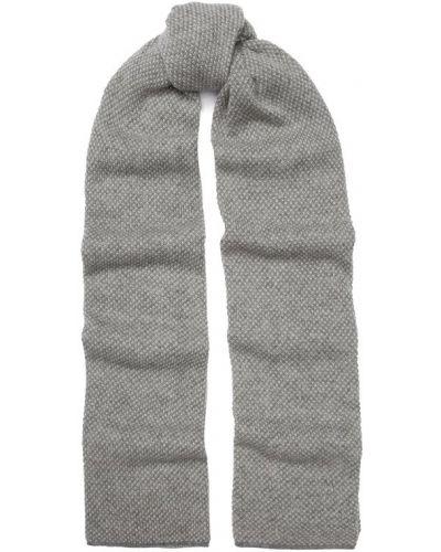 Шарф кашемировый светло-серый Tsum Collection