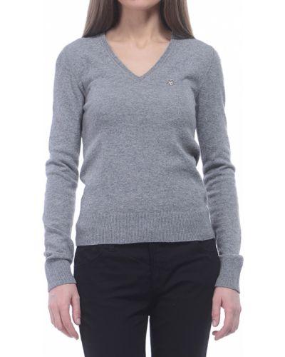 Джемпер шерстяной из вискозы Armani Jeans