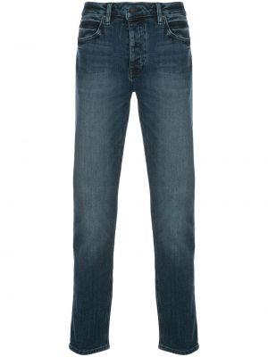 Mom jeans bawełniane - niebieskie Neuw