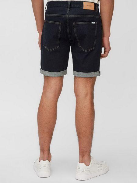 Джинсовые шорты на молнии - синие Marc O'polo Denim