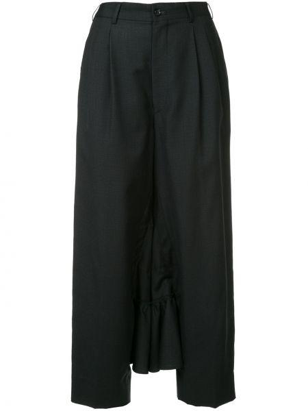 Черная прямая с завышенной талией юбка карандаш Comme Des Garçons Pre-owned