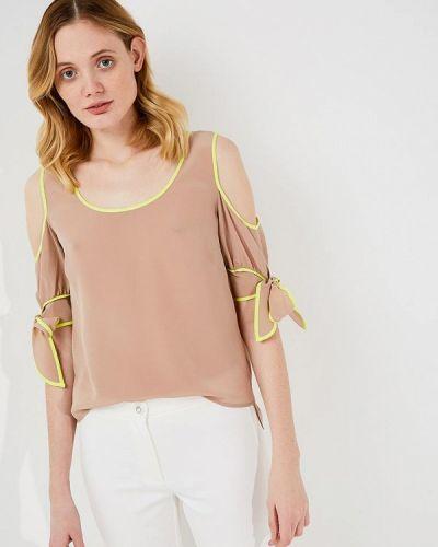 Бежевая блузка Pinko