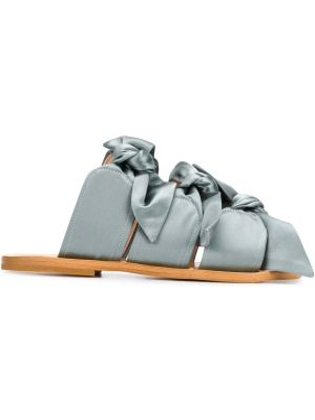 Sandały skórzany otwarty Gia Couture