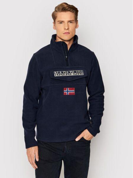Bluza polarowa granatowa Napapijri