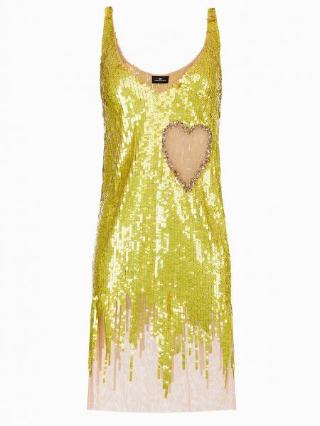Платье - желтое Elisabetta Franchi