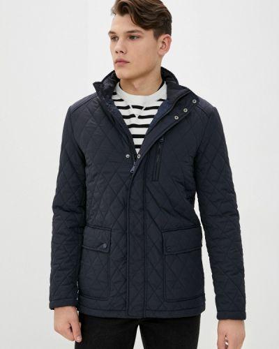 Теплая синяя утепленная куртка Geox