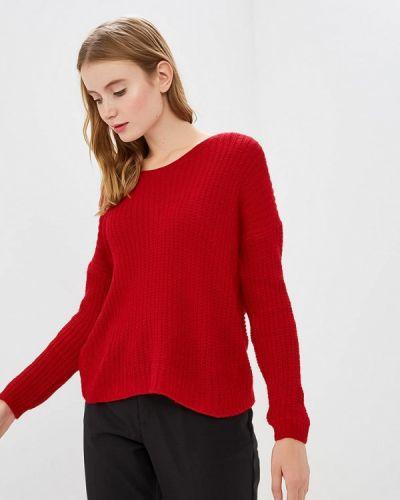 Пуловер красный итальянский Zuiki
