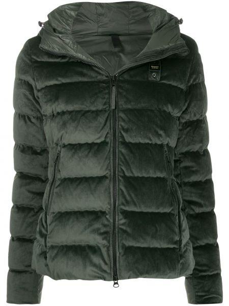 Куртка с капюшоном мятная Blauer