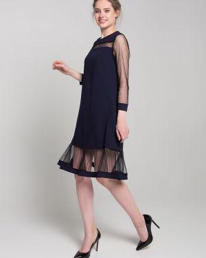 Платье сетчатое на молнии Sezoni