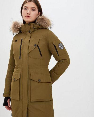 Утепленная куртка - желтая Snowimage