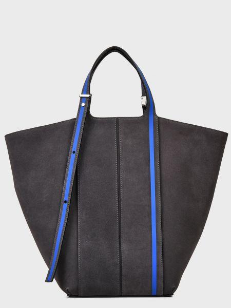 Текстильная сумка - серая Gianni Chiarini