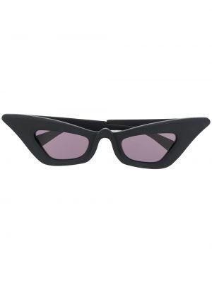 Солнцезащитные очки с логотипом - черные Kuboraum