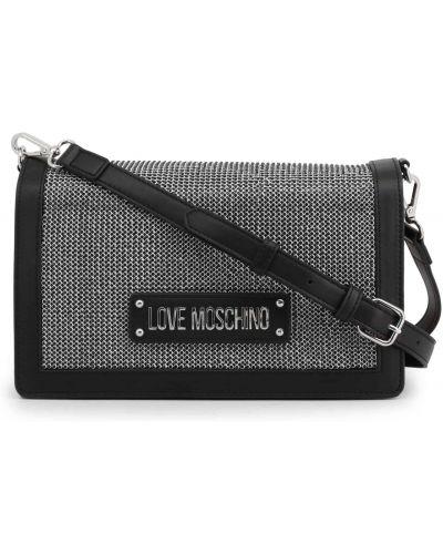 Listonoszka - czarna Love Moschino