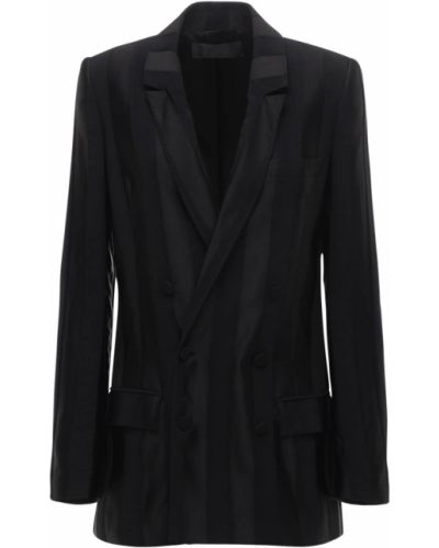 Пиджак с карманами - черный Haider Ackermann