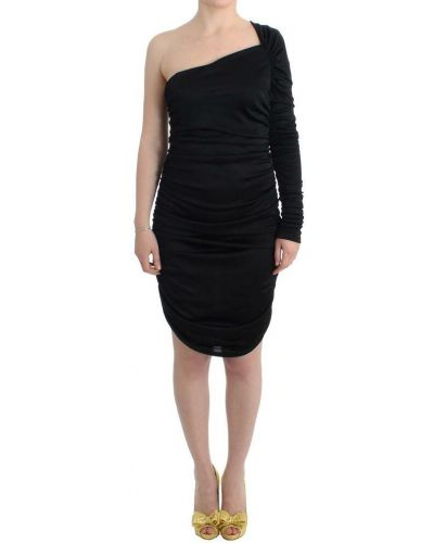 Czarna sukienka ołówkowa Gf Ferre