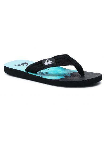 Czarne sandały na lato Quiksilver