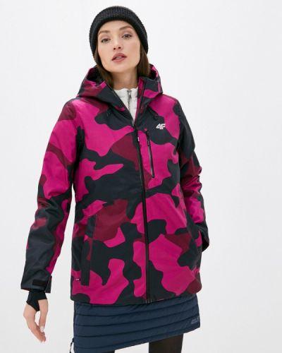 Розовая куртка горнолыжная 4f