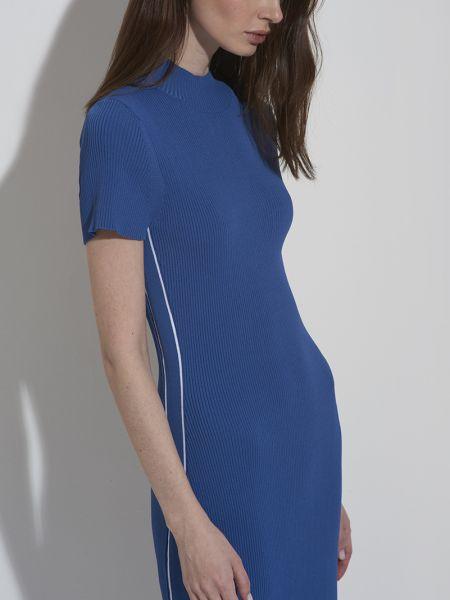 Облегающее платье спортивное на молнии Vassa&co