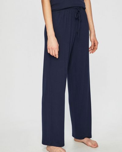 Брюки на резинке пижамные из вискозы Lauren Ralph Lauren