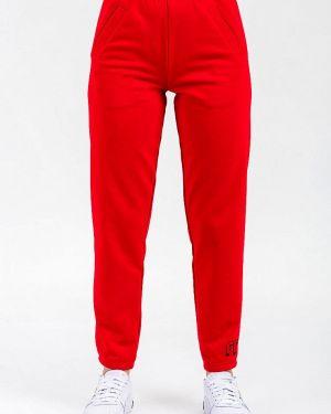 Спортивные брюки весенний красный For Friends