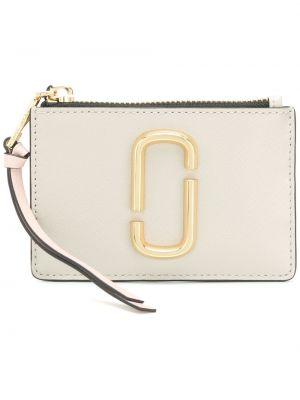Кожаный кошелек - белый Marc Jacobs