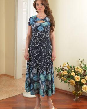Летнее платье макси на молнии Salvi-s