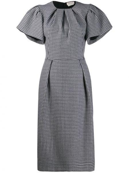 Платье мини футляр миди Alexander Mcqueen