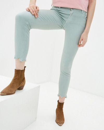 Бирюзовые повседневные брюки Colcci