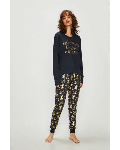Пижама с брюками темно-синий пижамный Chelsea Peers