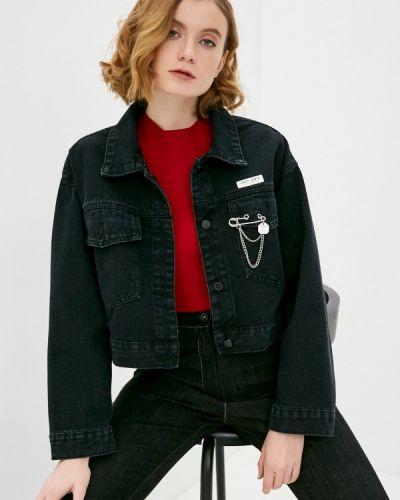 Черная джинсовая куртка Elsi