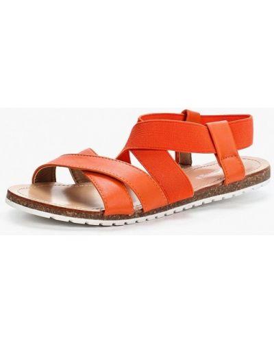 Оранжевые сандалии Amazonga