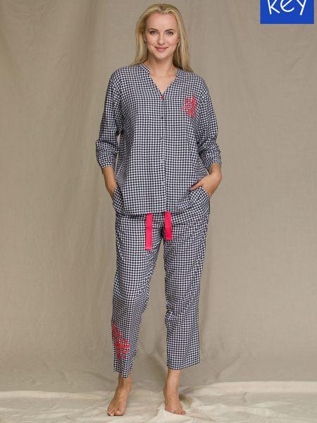 Пижамная домашняя пижама Key