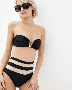 Черный купальник бандо Love's Swimwear
