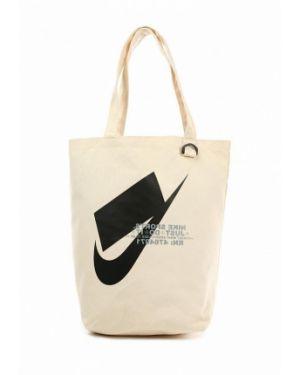 Сумка бежевый весенний Nike