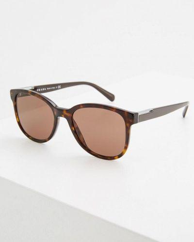 Солнцезащитные очки вайфареры Prada