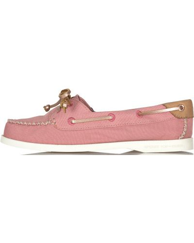 Ботинки на шнуровке кожаные резиновые Sperry Top-sider