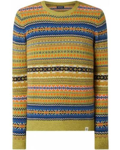 Beżowy ciepły sweter wełniany Mcneal