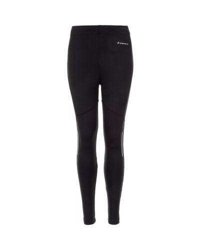 Черные брюки кожаные Demix