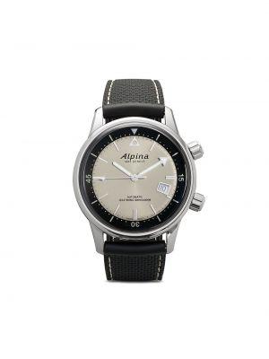 Синие часы круглые Alpina