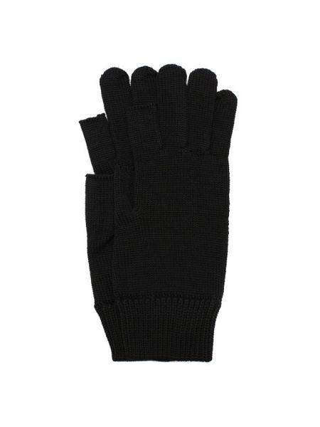 Шерстяные вязаные перчатки свободного кроя Rick Owens