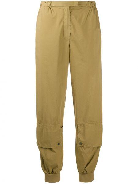 Sportowe spodnie z wysokim stanem elastyczne Dorothee Schumacher