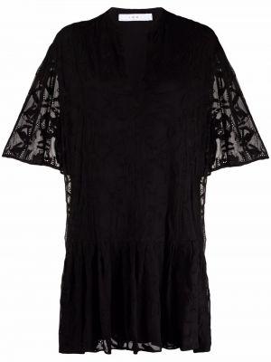 Кружевное платье - черное Iro