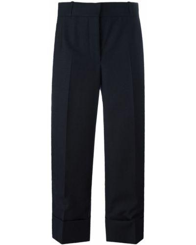 Укороченные брюки свободные шерстяные Thom Browne