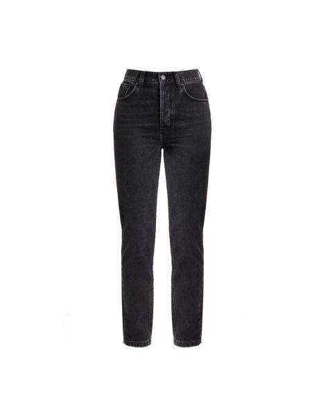 Czarne mom jeans casual Anine Bing