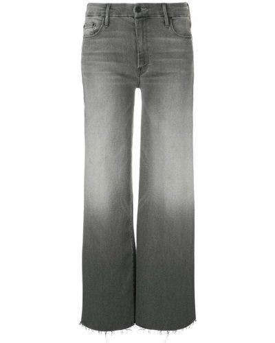 Широкие джинсы стрейч укороченные Mother