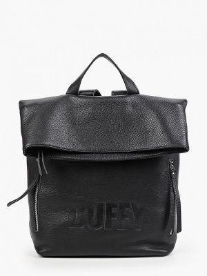 Черный рюкзак летний Duffy