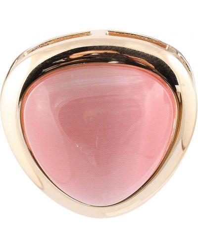 Золотая подвеска серебряный розовый Jewelry Box