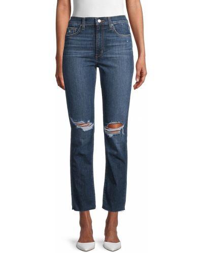 С завышенной талией прямые джинсы с карманами Joe's Jeans