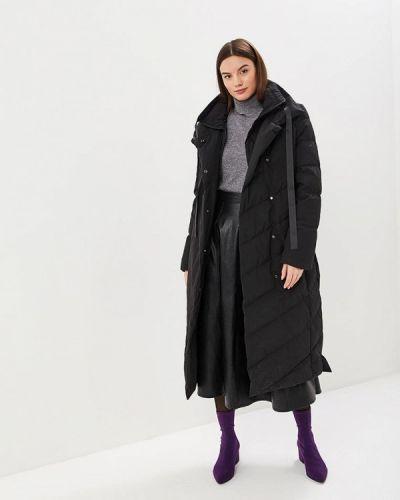 Зимняя куртка утепленная черная Hassfashion
